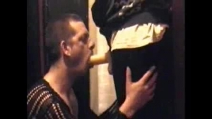 Blonde milf was hired to amuse a handsome guy from her neighborhood, in his huge house
